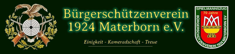 Bürgerschützenverein 1924 Materborn e.V.